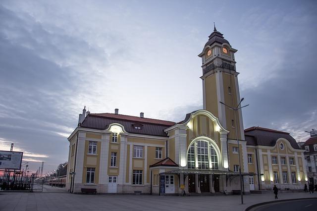 Burgas, Dworzec kolejowy