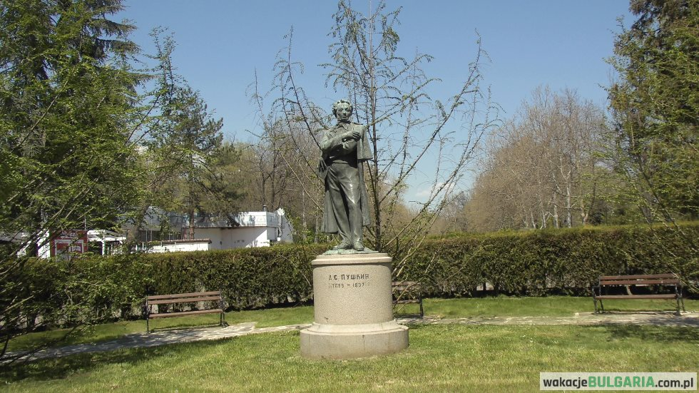 Buras pomnik Puszkina