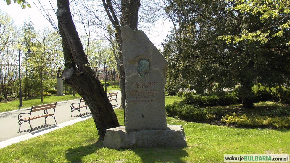 Pomnik Adama Mickiewicza w Burgas