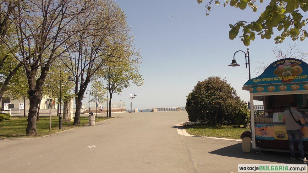 Park nadmorski w Burgas