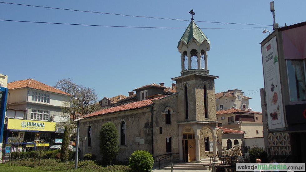 Cerkiew Ormiańska Św. Krzyża Burgas