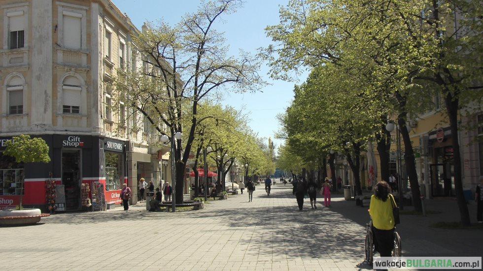 Burgas ulica Aleksandrowska