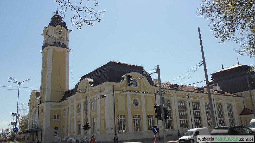 Burgas - odrestaurowany dworzec kolejowy
