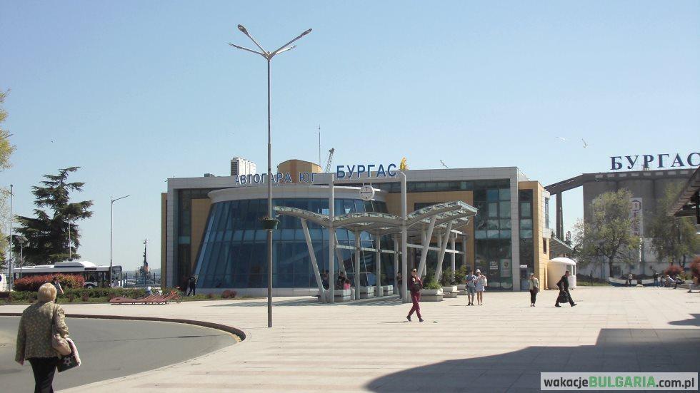 Avtogara Jug Burgas - dworzec autobusowy