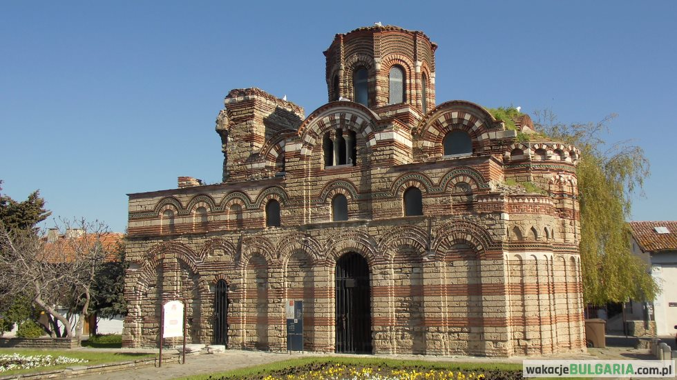 Cerkiew Chrystusa Pankratora Nesebyr