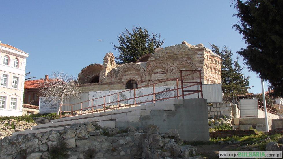 Ruiny cerkwi Św. Jana Aulitergretosa