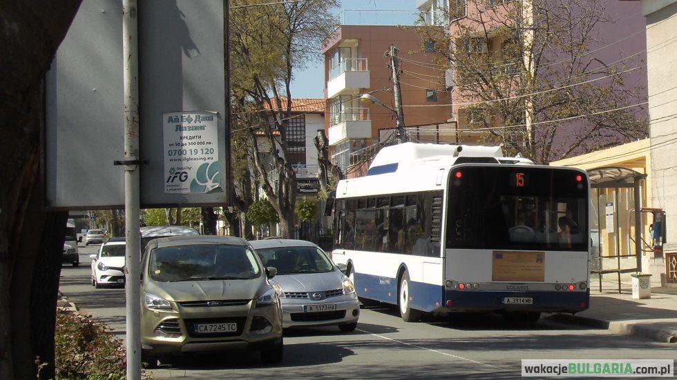 Autobus Sarafowo - Lotnisko Burgas
