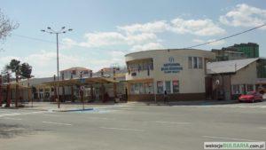 Dworzec autobusowy w Słonecznym Brzegu