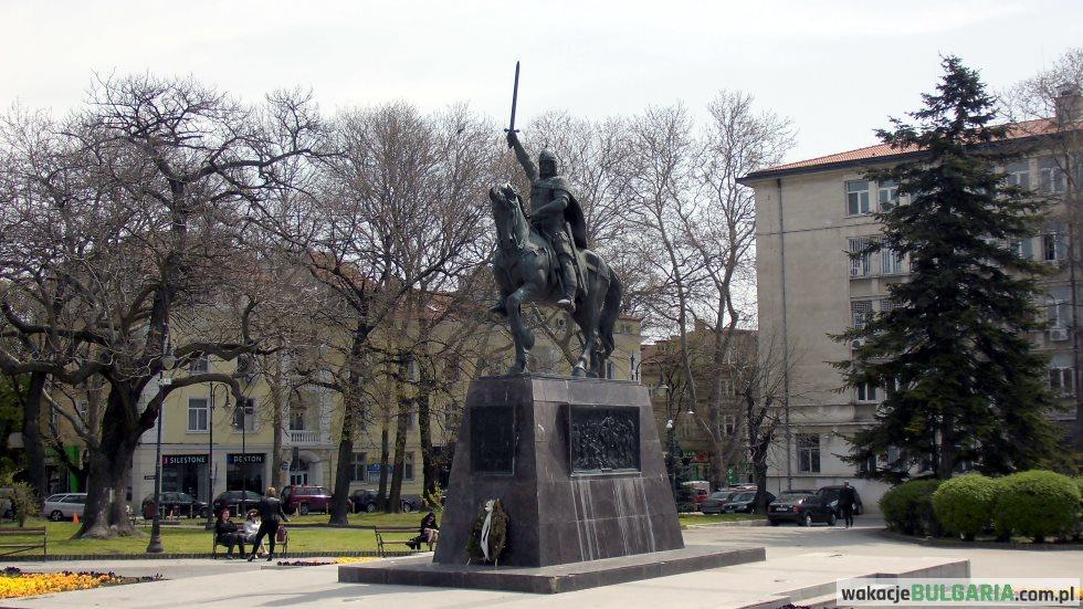 Pomnik cara Kałojana w Warnie