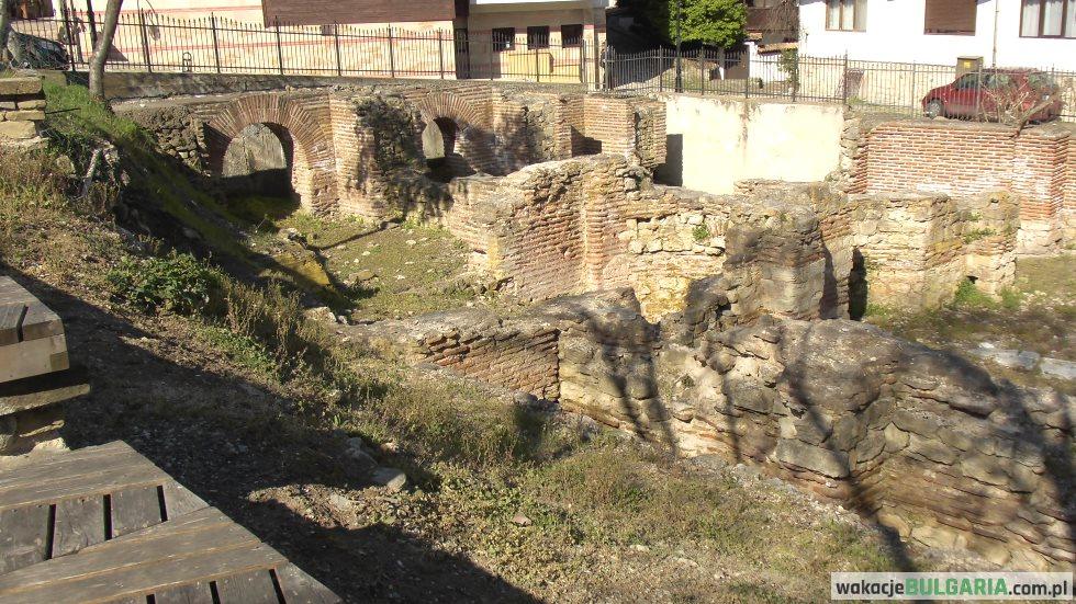 Nesebar - termy rzymskie