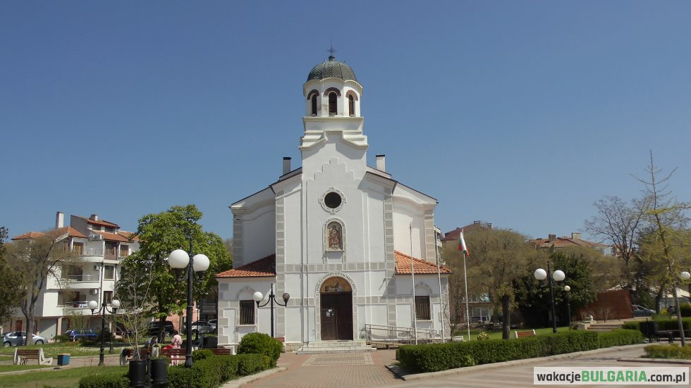Pomorie - Cerkiew Rozhdestvo Bogorodichno
