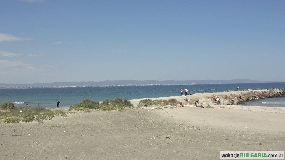 Plaża w Pomoriu