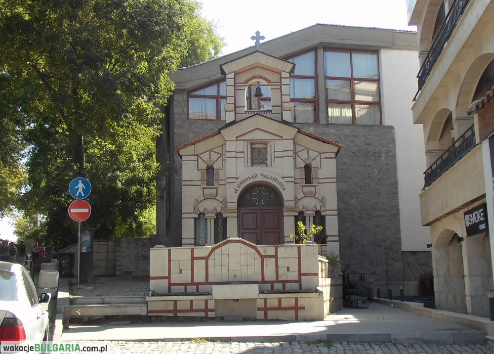 Sozopol - cerkiew św. Mikołaja Cudotwórcy