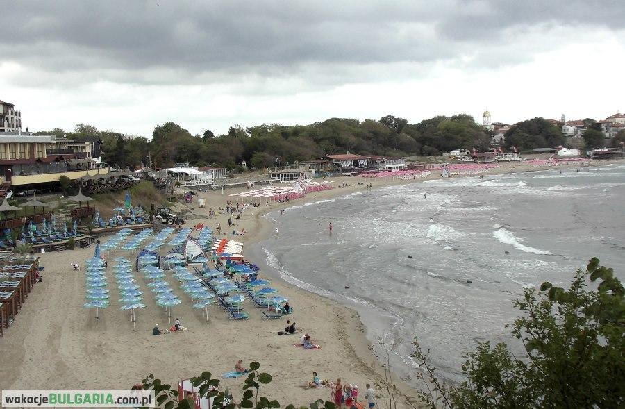 Sozopol - plaża