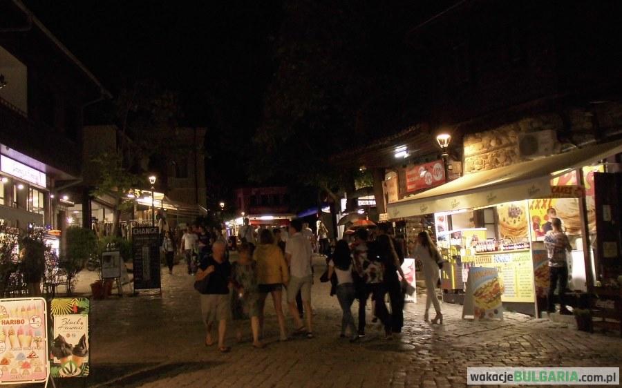 Sozopol - stare miasto nocą