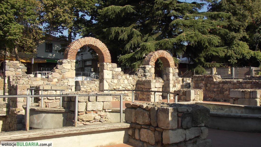 Sozopol - stare miasto - ruiny starożytne