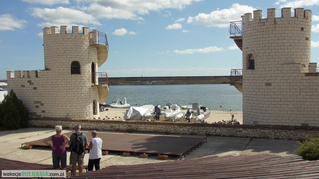 Złote Piaski - amfiteatr