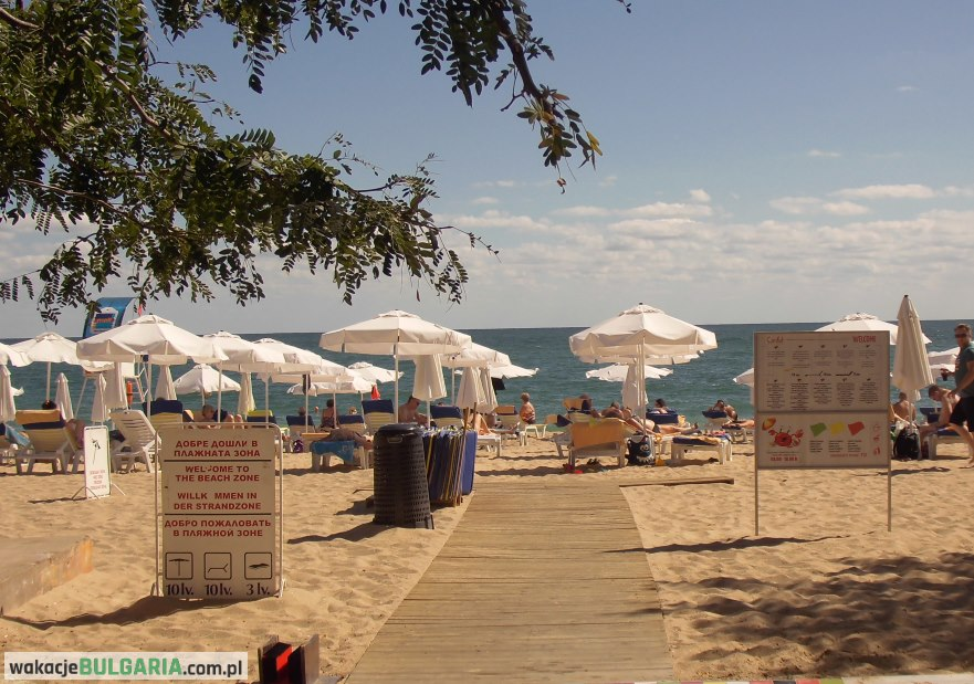 Złote Piaski - plaża