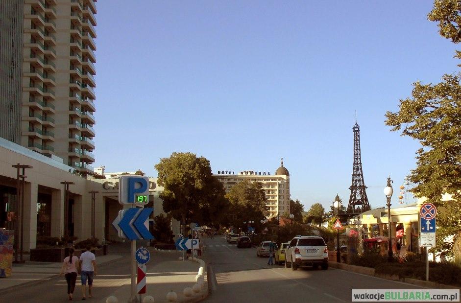 Złote Piaski - Eiffel Cafe