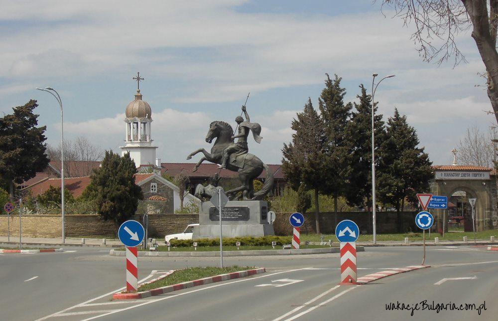 Pomorie - pomnik św. Jerzego