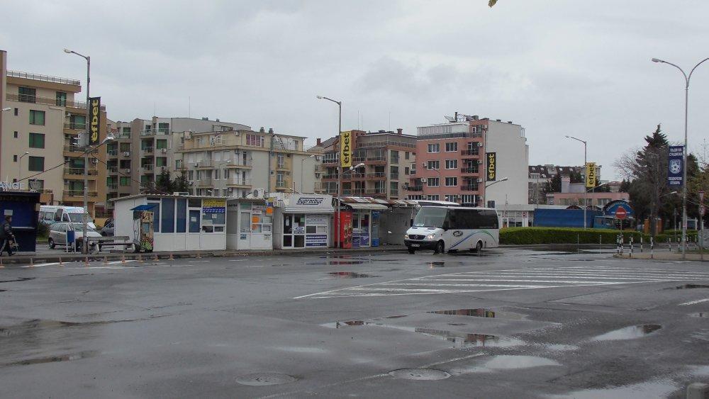 Pomorie - przystanek autobusowy